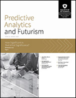Predictive Analytics and Futurism Section Newsletter